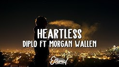 Diplo ft. Morgan Wallen - Heartless (Lyrics)