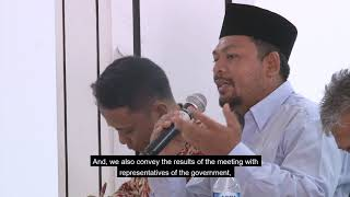 Indonesian Ahmadi Muslims in Human Rights meeting