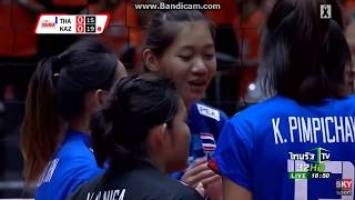 [Highlight : chatchu-on moksri ] Thailand vs Kazakhstan