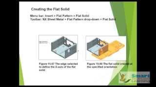 NX 10-Sheet Metal Design(advanced)-Video Training/Tutorials DVD