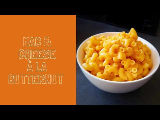 Mac and cheese à la courge butternut