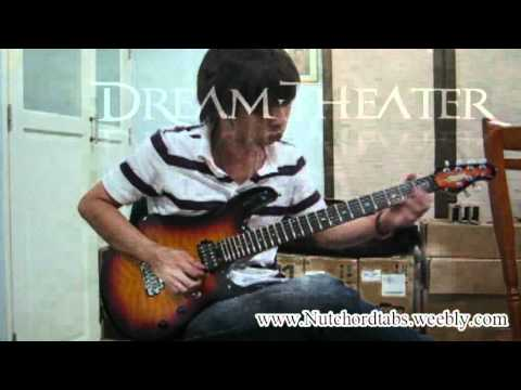 Dream Theater - Another day Intro&Solo By Nut (Guitar Cover & Tabs By Nut)