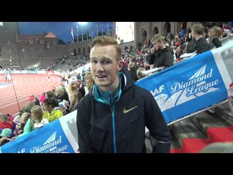 """Greg Rutherford  """"over the moon"""" with performance in """"beautiful"""" Stockholm stadium"""