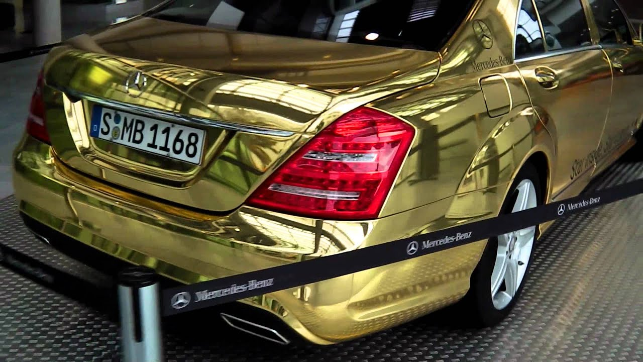 Mercedes Benz S 500 Golden Edition W221 Stuttgart