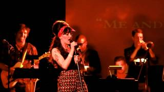 "Lena Hall- ""Me and Mr. Jones"" at Broadway Sings Amy Winehouse"