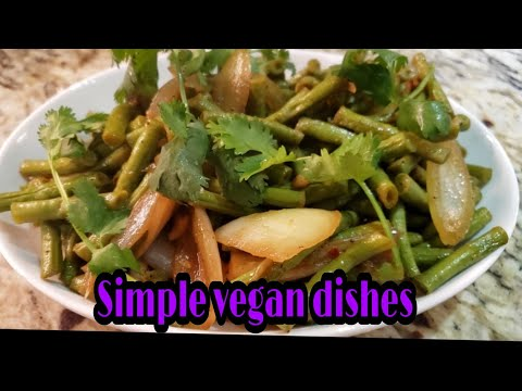 How to cook simple vegan dishes//watch this//vegan//super healthy//no meat.