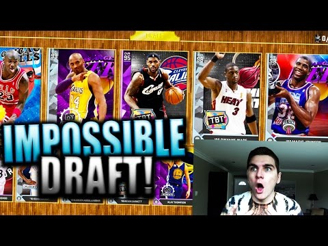 2KMTCENTRAL HATES ME!! 90+ DRAFT MOST DISGUSTINGLY SOUR FORFEIT! NBA 2K16 MyTeam Draft