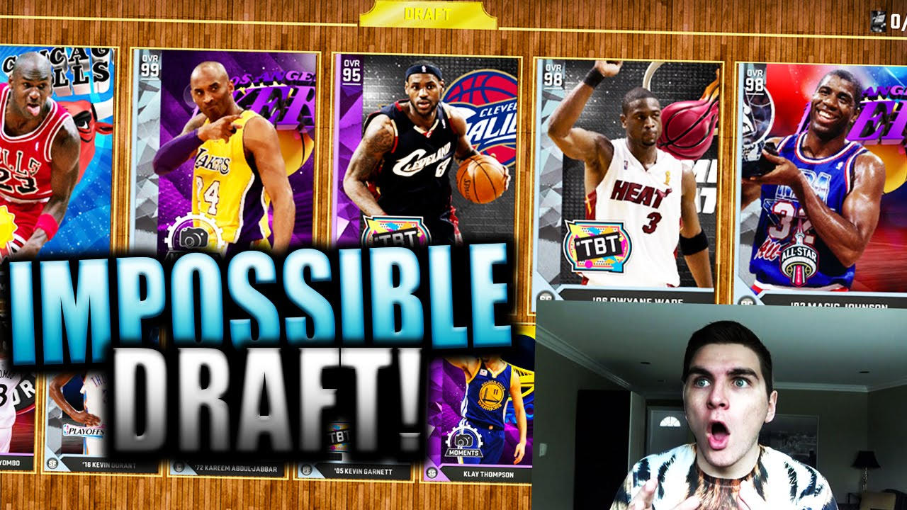 2KMTCENTRAL HATES ME!! 90+ DRAFT MOST DISGUSTINGLY SOUR FORFEIT! NBA 2K16 MyTeam Draft - YouTube