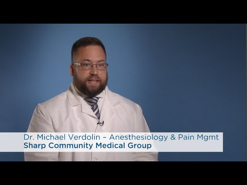 Dr. Michael Verdolin, Anesthesiology & Pain Management