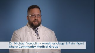 dr michael verdolin anesthesiology pain management
