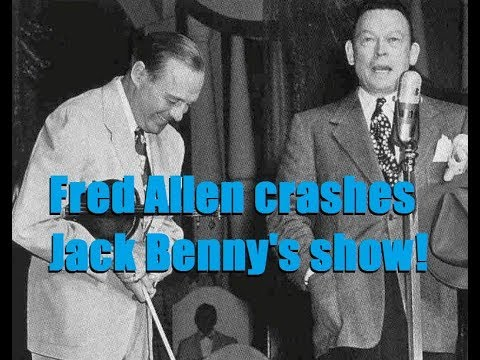 Fred Allen crashes Jack Benny's ! Roxy Theater, NYC 1947