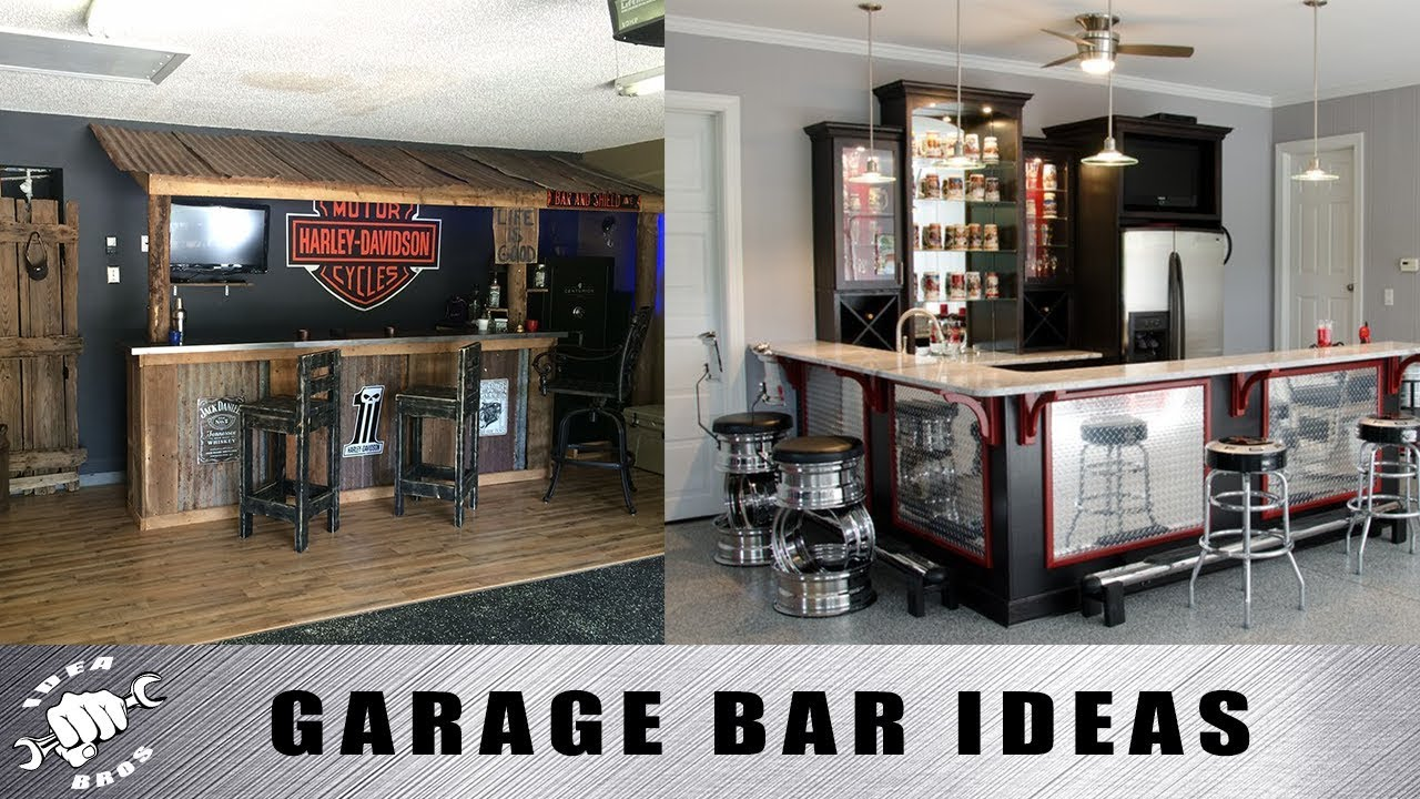 Garage Bar Ideas  YouTube