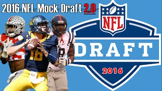 2016 NFL Mock Draft 2.0 Free HD Video