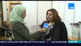الإستحقاق الثالث - المستشارة هبة عبد الكريم : الإقبال من كبار السن وليس هناك تواجد من الشباب