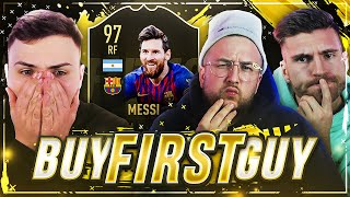 FIFA 19: HARDCORE BUY FIRST GUY 97 MESSI IF 🔥