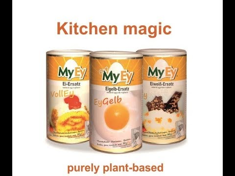 Egg substitute - vegan baking with MyEy |How to Replace Eggs ...