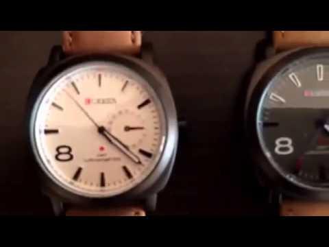 48a623c5ac7 Relógio Curren 8139 unissex - Elegância e sofisticação! - YouTube