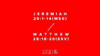 143 Script Jams | Jeremiah 29:1-14, Matthew 28:18-20 (ESV)