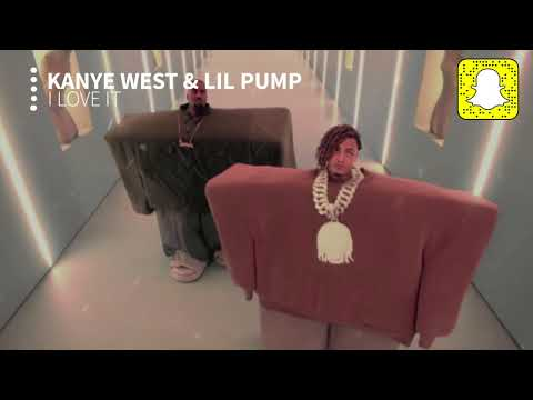 Kanye West & Lil Pump - I Love It (Clean)
