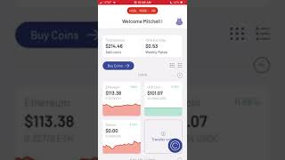 Cryptocurrency Portfolio Staking Bitcoin BTC & Ethereum ETH on the Celsius Network #Cryptocurrency