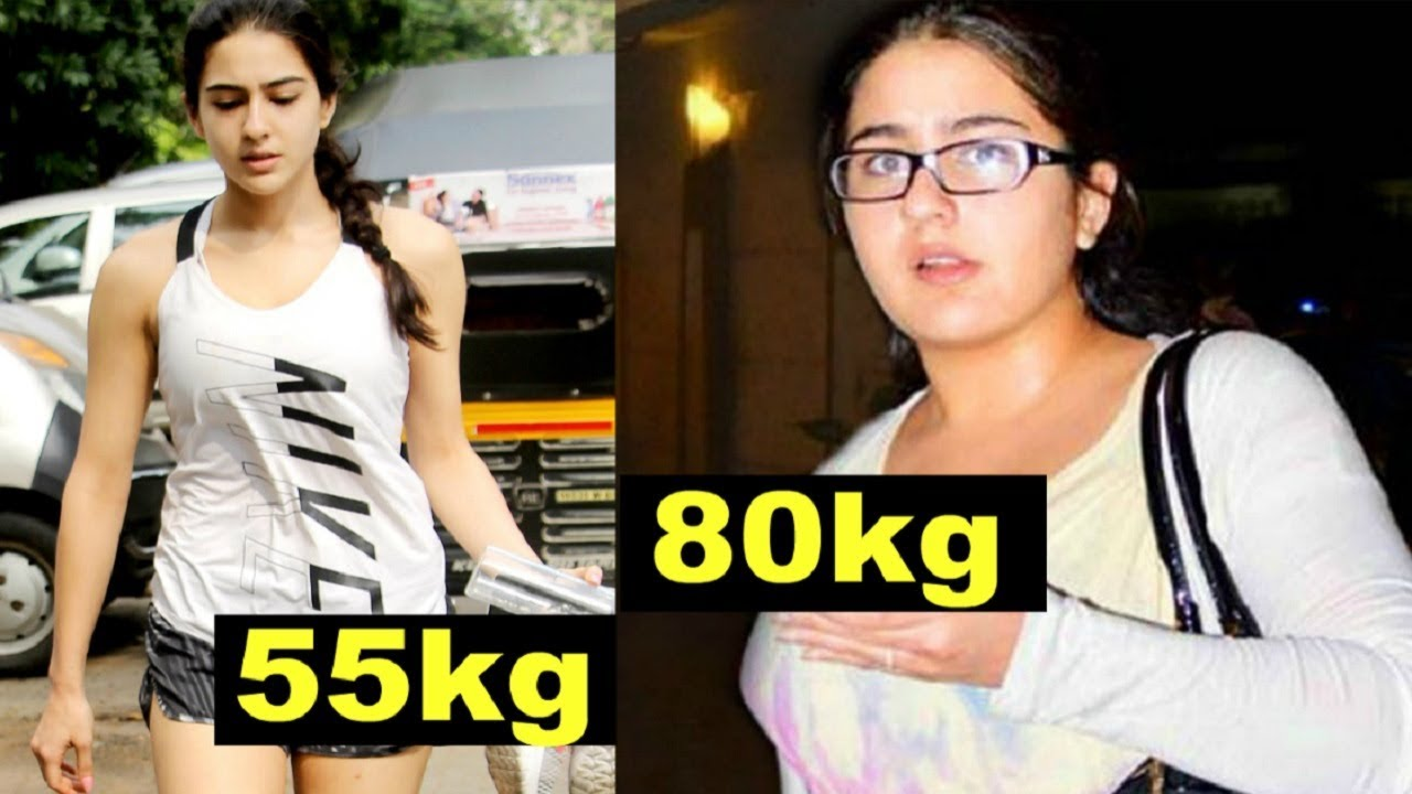 Image result for sara ali khan weight loss