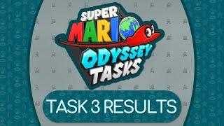 TASK 3 RESULTS | Super Mario Odyssey Tasks Season 3 [Twitch VOD]
