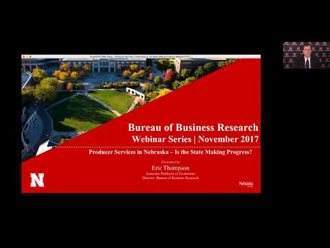 Nebraska BBR Webinar: Producer Services in Nebraska