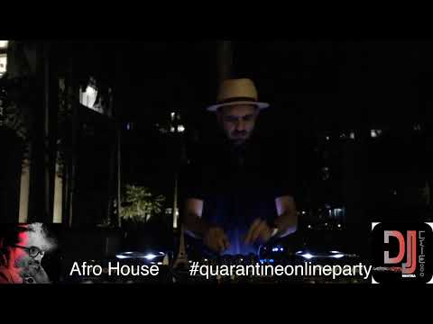 Let's get groovy! #quarantineonlineparty ep.8: Afro House