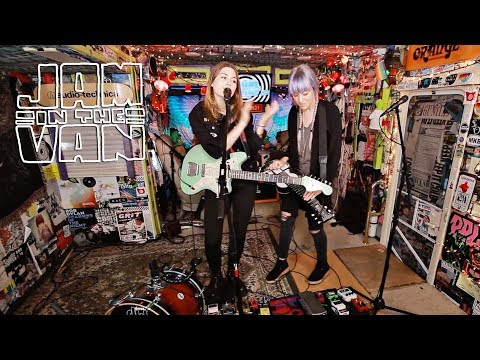 "LARKIN POE - ""Come on In My Kitchen"" (Live at JITV HQ in Los Angeles, CA 2017) #JAMINTHEVAN"