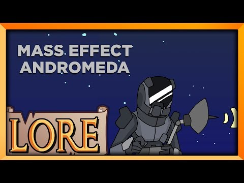 MASS EFFECT ANDROMEDA: Pathfinding to a New Home | LORE in a Minute! | Octopimp | LORE