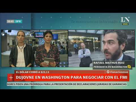 La Nación en Washington: detalles de Dujovne en el FMI - Café de la Tarde