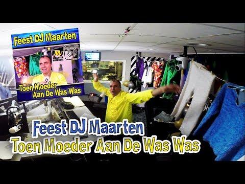 Feest DJ Maarten - Toen Moeder Aan De Was Was  (3fm Video Clip Versie)