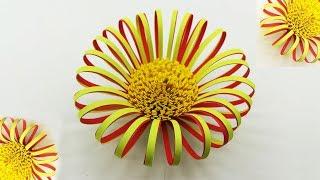 Fluffy Flower Centers Making Easy Tutorial | Paper Flowers Diy