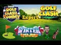 Golf Clash tips, Playthrough, Hole 1-9 - EXPERT - TOURNAMENT WIND! Winter Major Tournament! Mp3