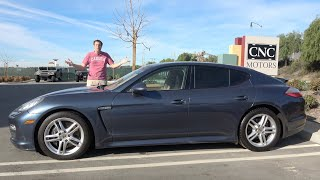 Here's Why a Used Porsche Panamera Is a Sub$30,000 Bargain