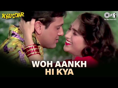 Woh Aankh Hi Kya - Khuddar - Govinda & Karisma Kapoor - Full Song