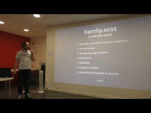 Family.scss, comment créer un projet open source cool par Lucas Bonomi