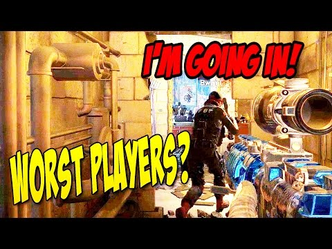 WORST PLAYERS EVER? | Rainbow Six Siege | Funny Moments!