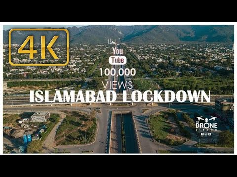 Islamabad COVID-19 Lockdown 4K l The Drone Life PK