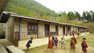 Rebuilding Schools in Eastern Bhutan