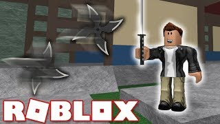 ROBOX ' DA NINJA GIBI PARKUR YAPMAK/Roblox Be a Parkour Ninja + WebCam