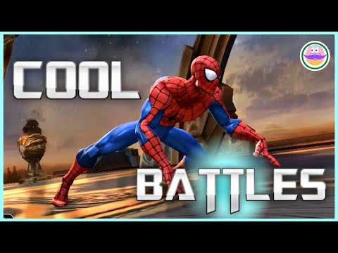 spiderman-battle-of-champions.-the-best-fights.-marvel-battle-of-champions.-mcoc-#marvel-#spiderman