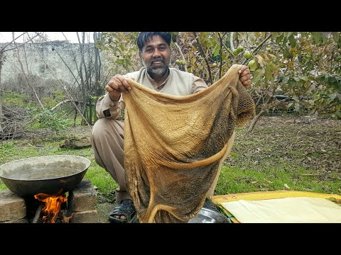 How To Clean And Cook  Ojri / Village Style Ojari Recipe / Mubarik Ali