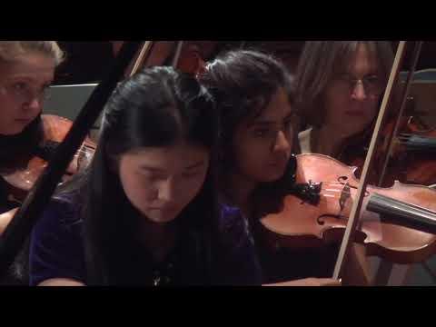 Prokofiev – Piano Concerto no 2 in G minor, Soloist  Lauren Zhang 2019