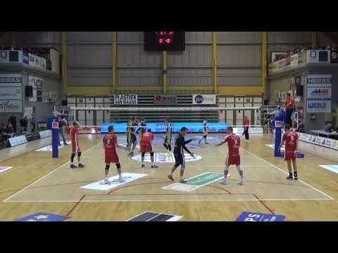 Top Volley Callant Antwerpen - Prefaxis Menen 3:2