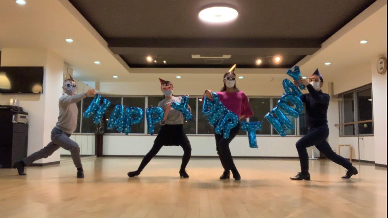運動不足解消76 お誕生日ダンス クラスの皆さんと踊ってみました。