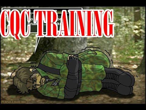 CQC training [MGS3 COMIC DUB]
