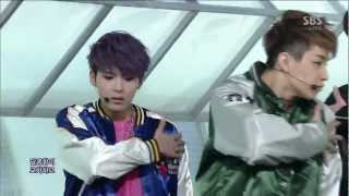 Super Junior M [Break Dowrn] @SBS Inkigayo Popular song 20130203