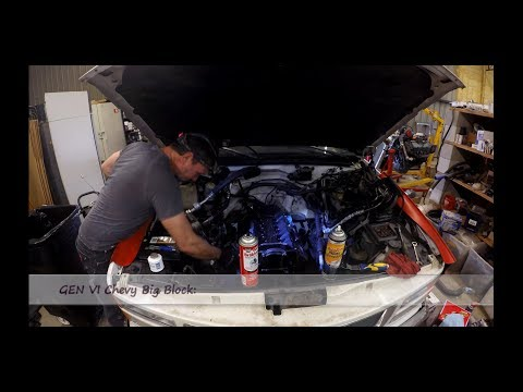 Cleaning Pistons and Cylinder Walls Safely | Gen VI Chevy 454 Big Block Engine