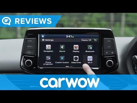 Hyundai i30 Elantra 2018 infotainment and interior review Mat Watson reviews